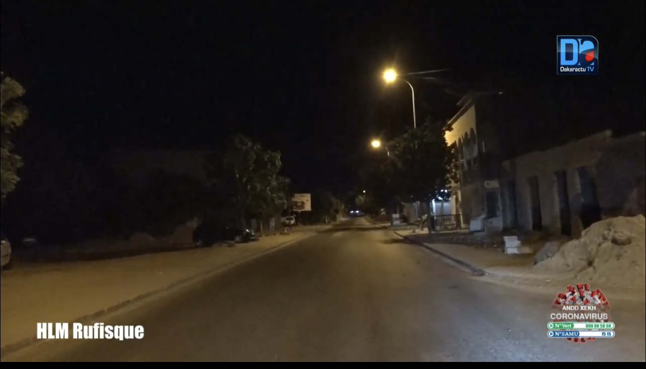 1er jour couvre-feu / Acte 2 état d'urgence : la situation est très calme à Rufisque qui présente le visage d'une ville sage.