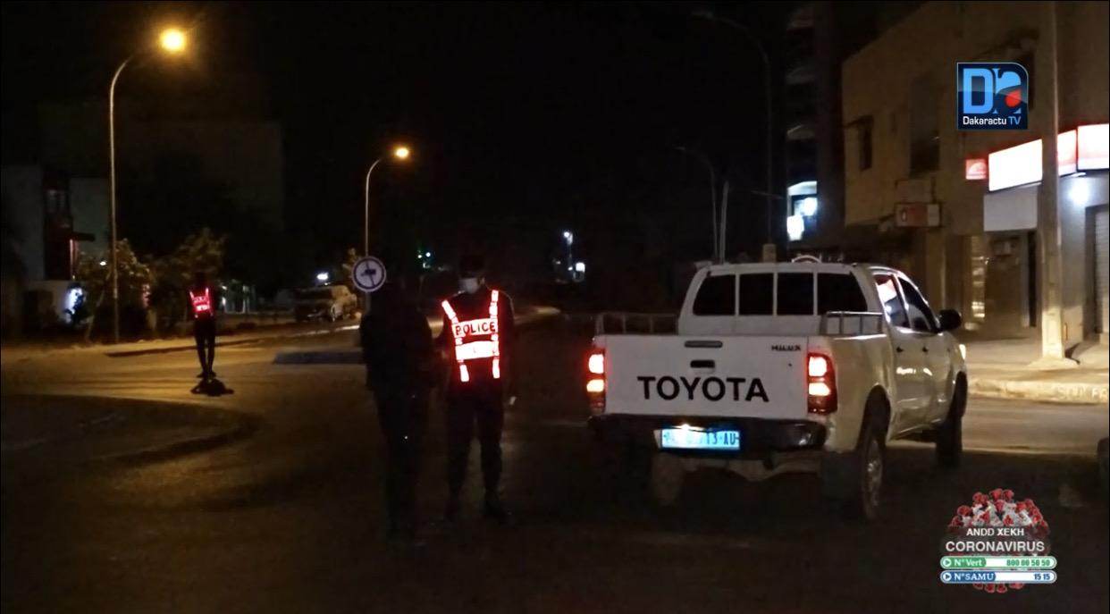 Deuxième nuit de couvre-feu : Médina, Grand-Dakar retrouvent leur calme, des agresseurs profitent de la situation à Diamaguène et Fass, jet de pierres aux HLM sur les policiers et quelques arrestations