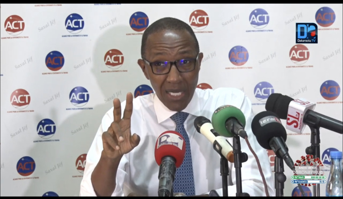 Abdoul Mbaye, Pdt ACT : «La dictature vers laquelle s'achemine le Sénégal, sera certes méchante mais aussi bête et incompétente»