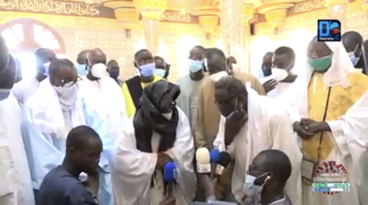 MOSQUÉES DE TOUBA / Le Khalife fait renforcer les mesures anti-covid19 et active Muqadimatul Khidma.