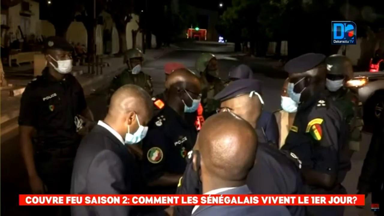 Couvre-feu : Le responsable de la communication de la Police dresse le bilan des interpellations lors de la manifestation.