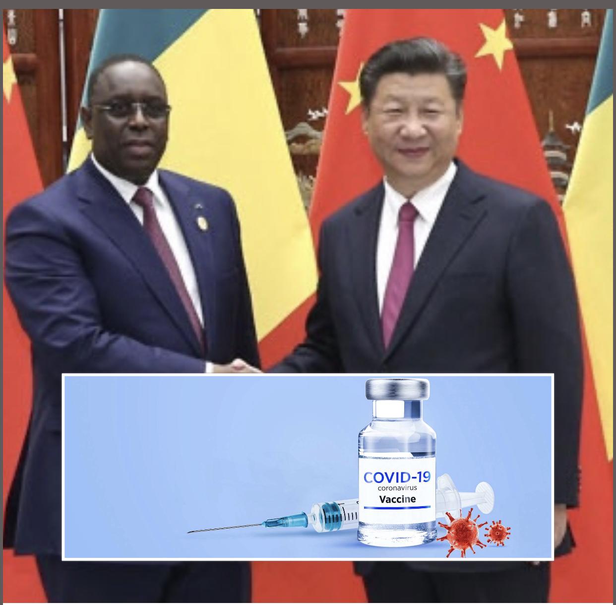 Acquisition de vaccins anti-Covid : membre de l'Initiative COVAX, pourquoi le Sénégal négocie avec la Chine...