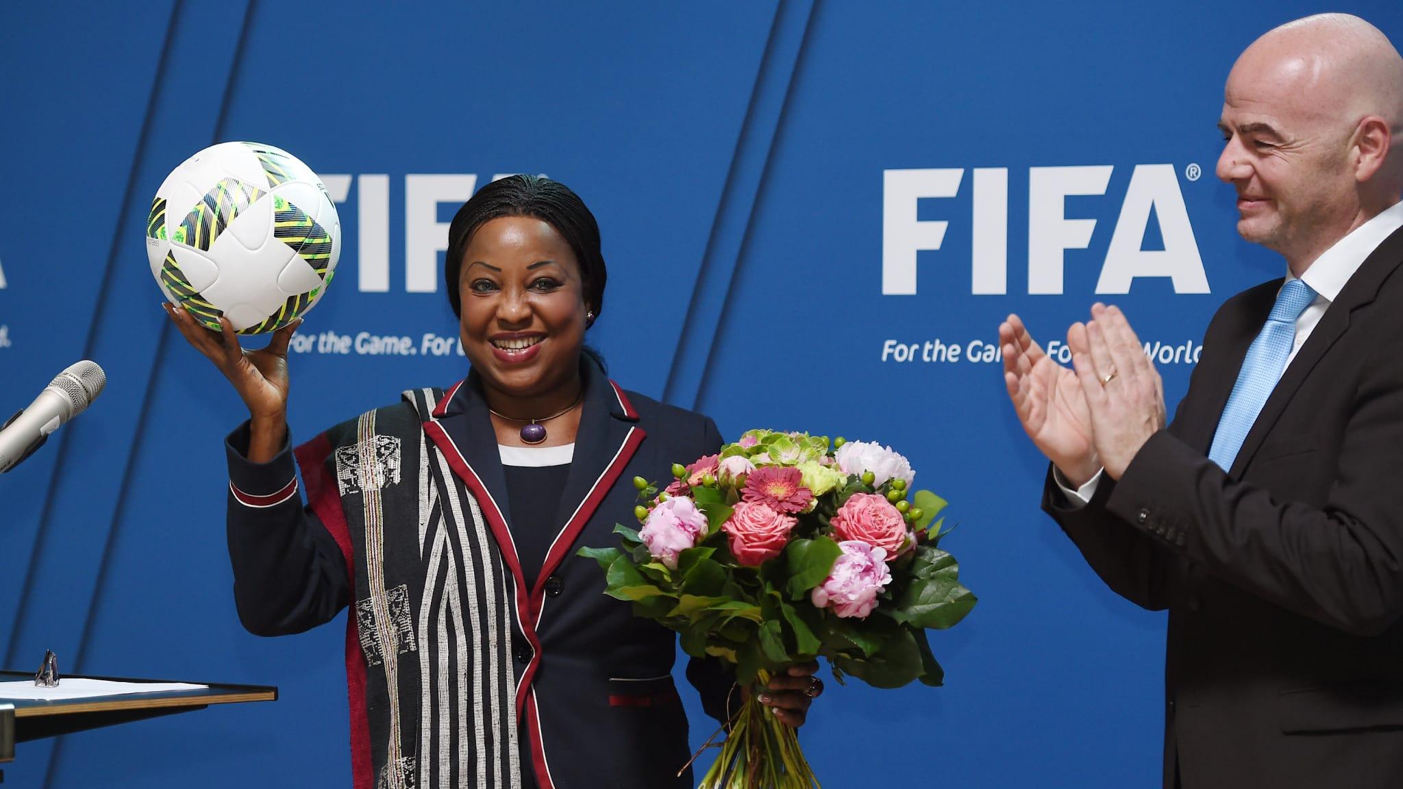 Fatouma Samoura suite à sa visite à Génération Foot : « Je partagerai toute cette revue avec Gianni Infantino »