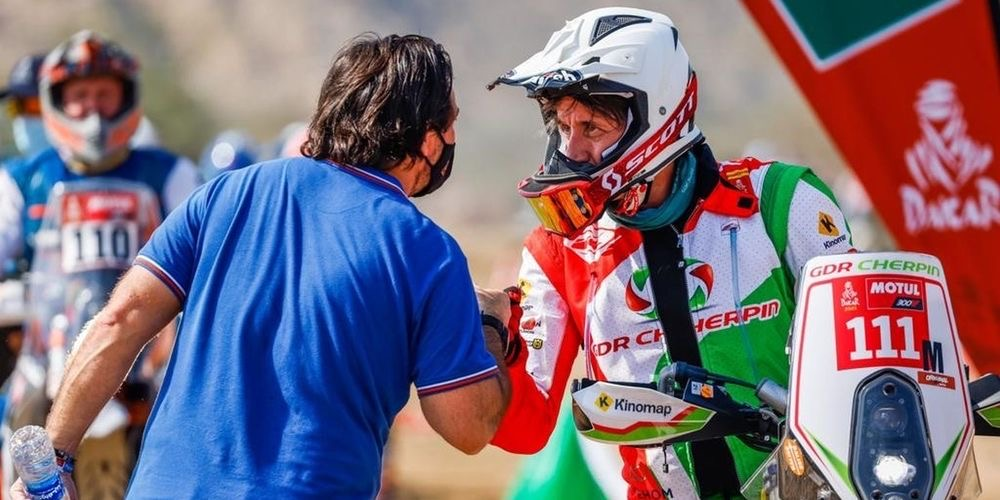 Rallye DAKAR : Le Pilote de moto Cherpin est mort.