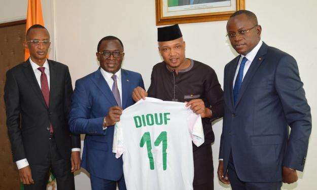 Élections CAF : Rencontre entre autorités Sénégalaises et Ivoiriennes, Matar Ba et Diouf aux commandes.