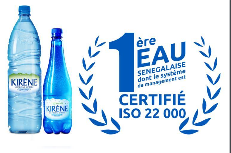 Kirène, certifiée Iso 22 000