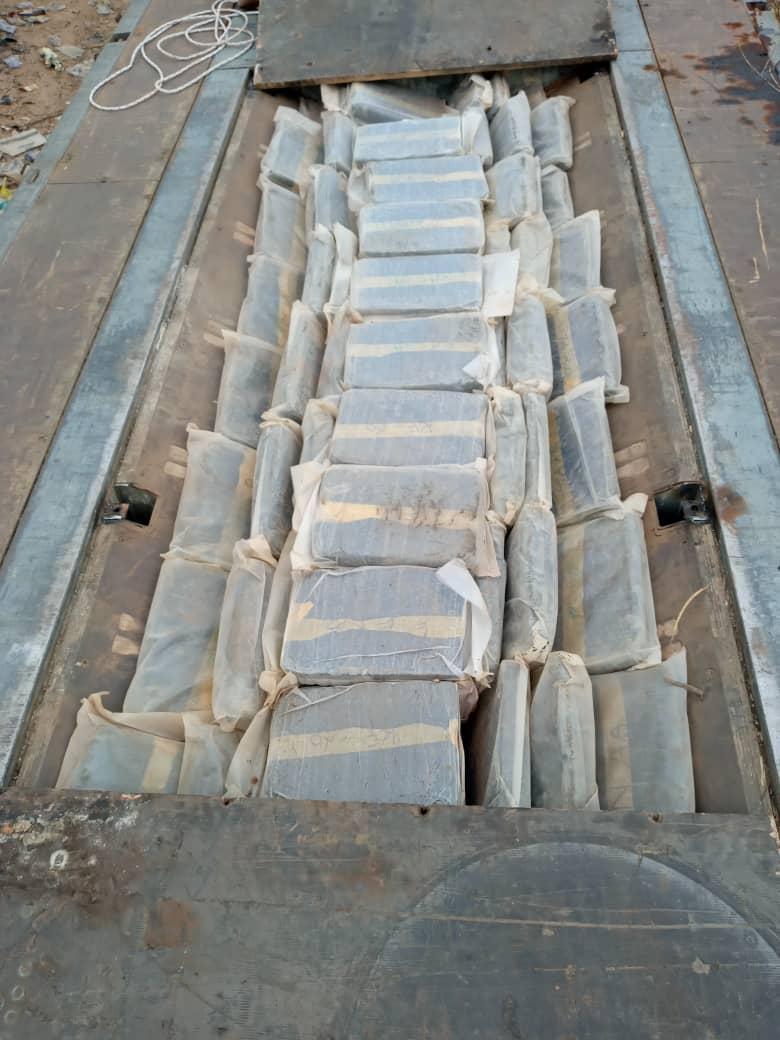 Trafic de drogues : 634 kg de chanvre indien saisis à Koungheul et à Mbour.