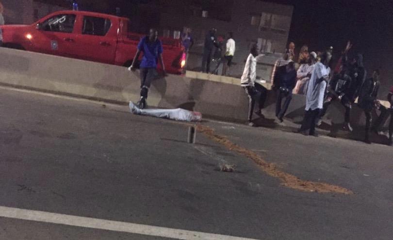 Gandiaye : Un accident fait 01 mort et plusieurs blessés.