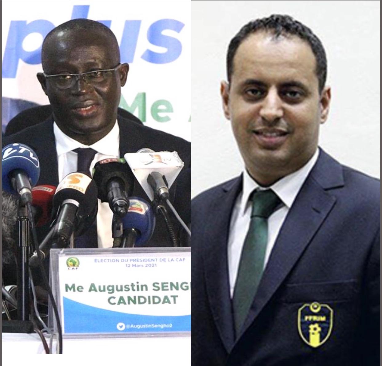 Assemblée générale UFOA / A : Augustin Senghor et Ahmed Yahya ont partagé le même vol en direction de Praia.