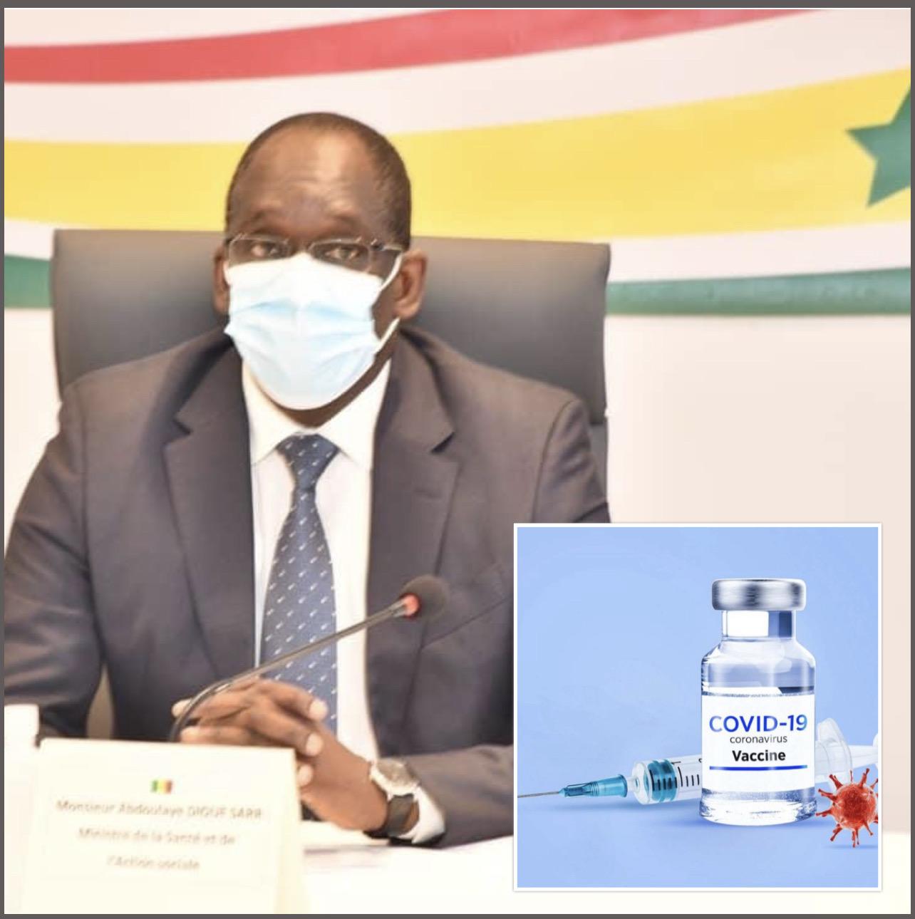 Spéculation sur le vaccin contre la Covid-19 : «Il faut que les gens reviennent à la raison. Toutes les conditions de sécurité seront de mise» (Abdoulaye Diouf Sarr)