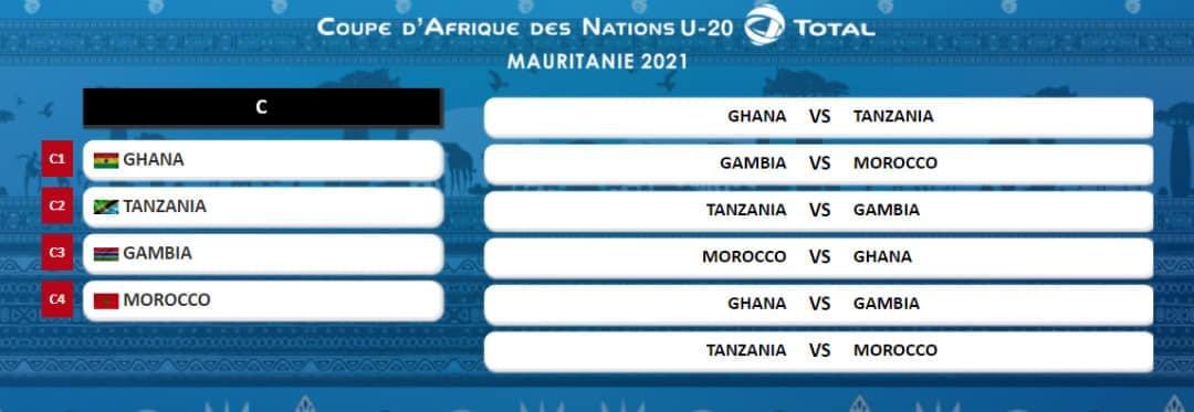 CAN U20 : Les 12 équipes connaissent désormais leurs adversaires répartis en 3 poules.