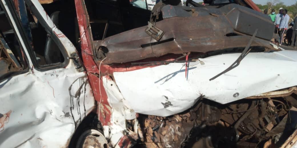Ngathie Nawoudé : 07 morts et une dizaine de blessés dans un accident à hauteur du village de Daga Diakhaté (Bilan provisoire).