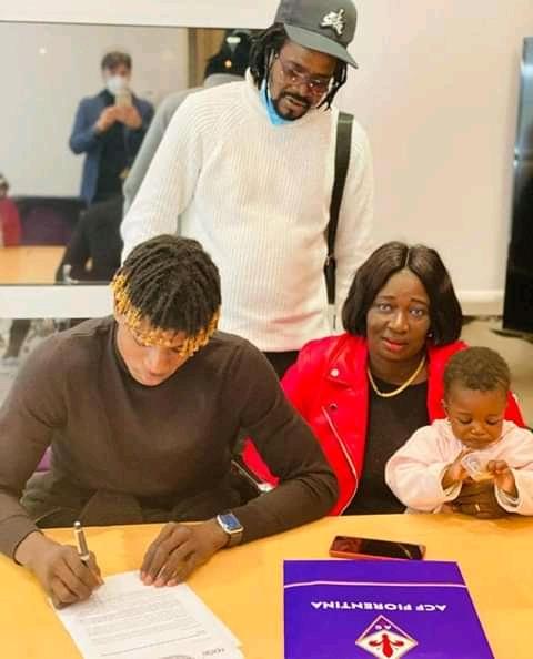 Transfert : Le jeune international sénégalais Fallou Sène signe à la Fiorentina.