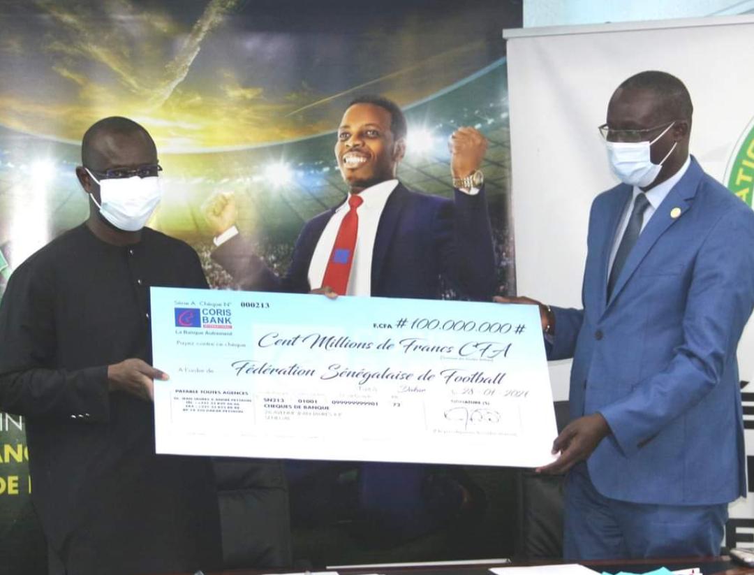 Partenariat / Football : La fédération Sénégalaise et Coris Bank ensemble pour 100 millions FCFA.