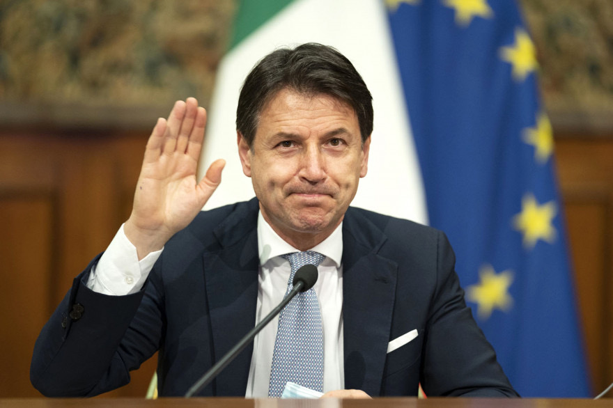 Italie : Démission du Premier ministre Giuseppe Conte, le pays en quête d'une nouvelle majorité.