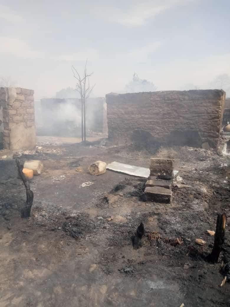 Koungheul / Incendie à Maka Yop : Plus de 19 concessions parties en fumée.