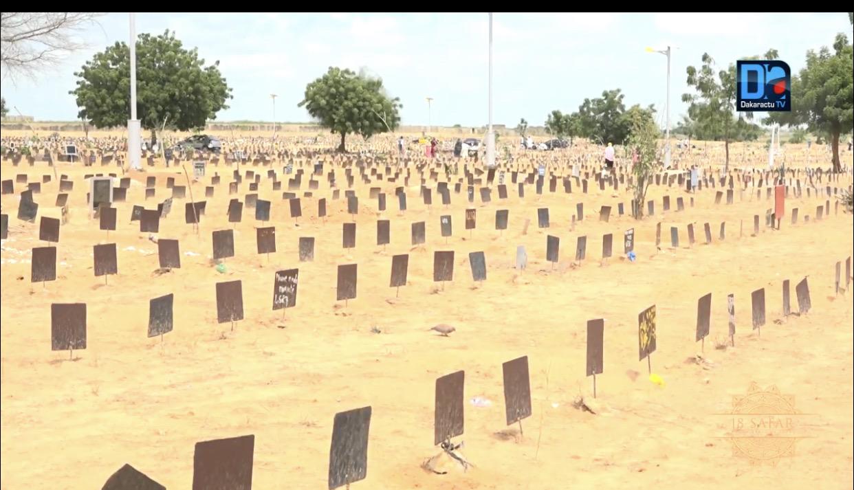 CIMETIÈRE BAKHIYA 2020 / 12. 272 inhumations... Les hommes plus concernés que les femmes...Thiès derrière Touba...Les creuseurs de tombe empochent 18 millions.