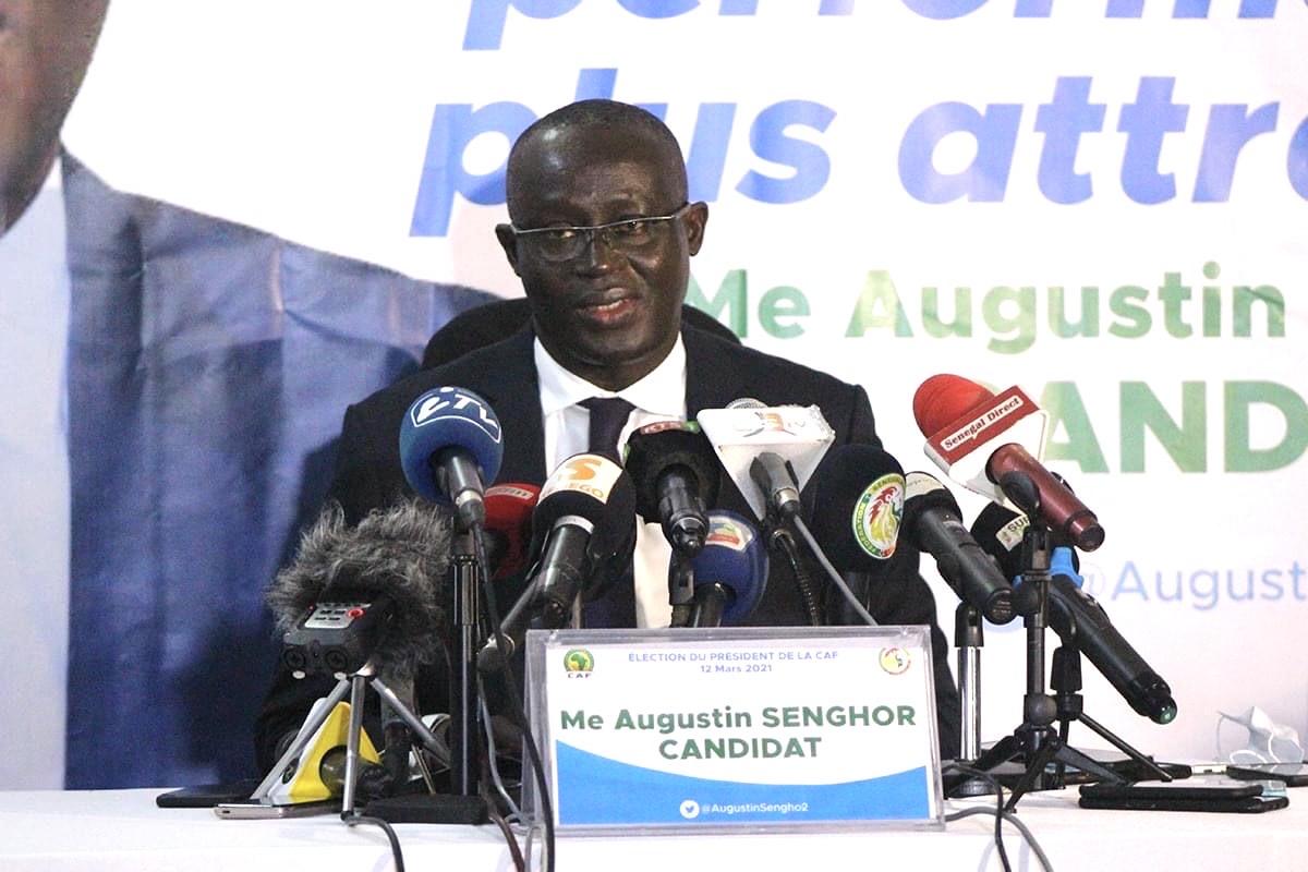 Présidence CAF : Augustin Senghor décroche le soutien d'un ténor du Football nigérian.