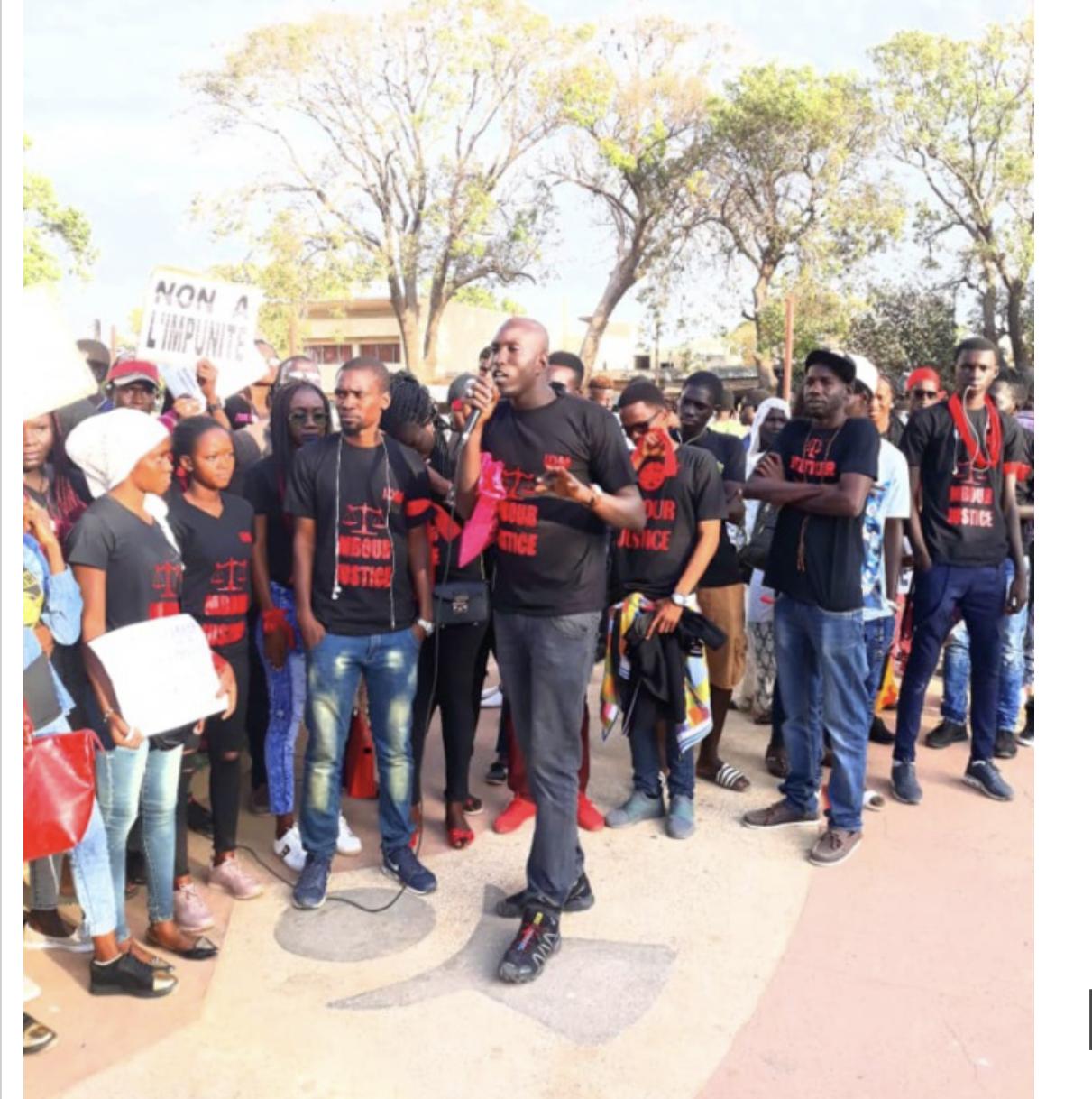 Des jeunes du Mouvement Mbour-Justice interpellés par la Police...