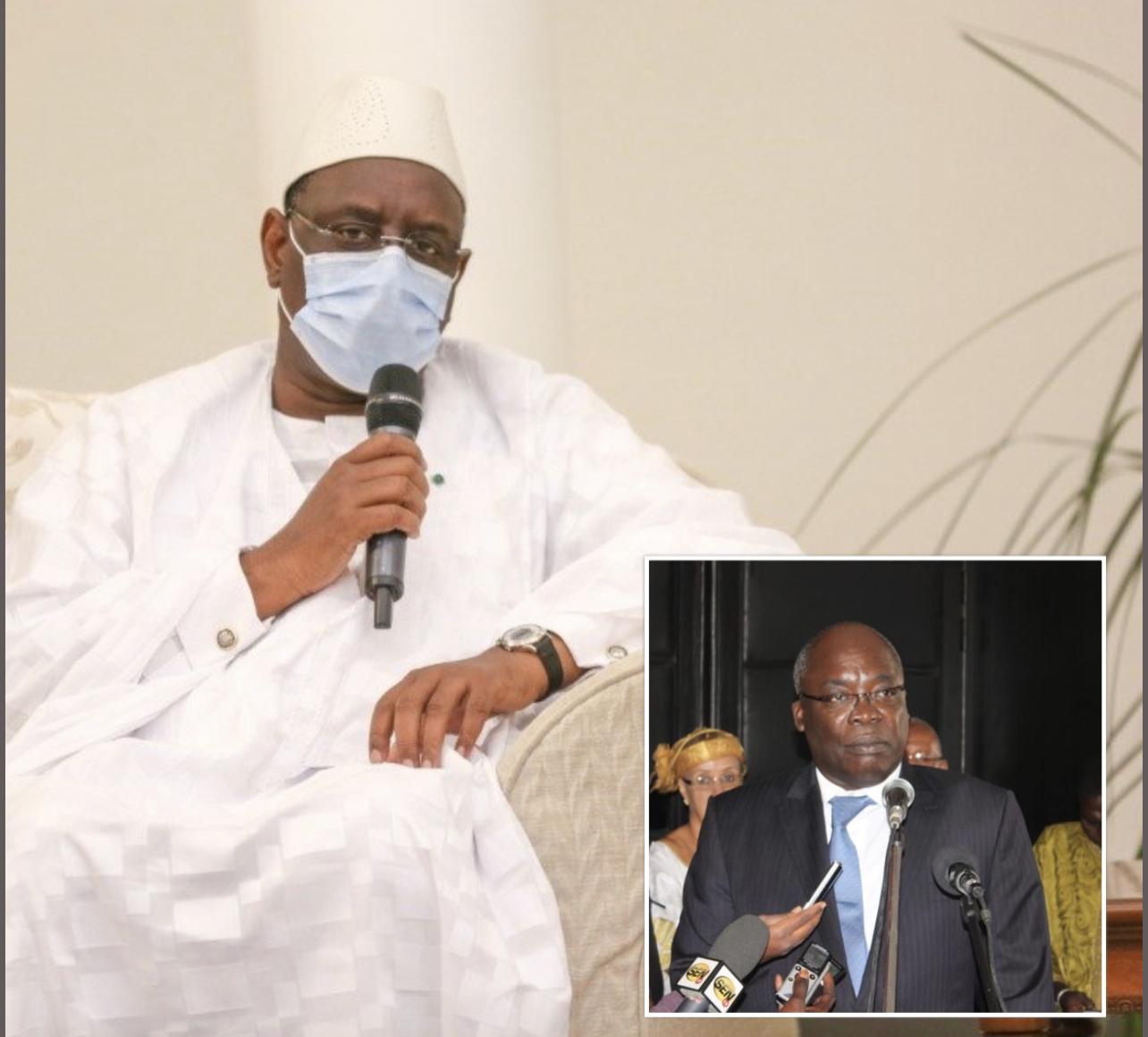 Décès de l'ancien ministre Abdou Aziz Mbaye : La réaction du président Macky Sall.