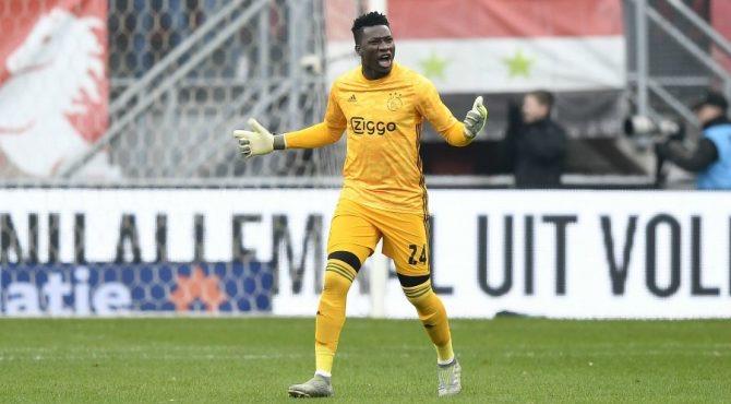 Football / Ajax Amsterdam : Le gardien André Onana suspendu un an par l'UEFA pour dopage.