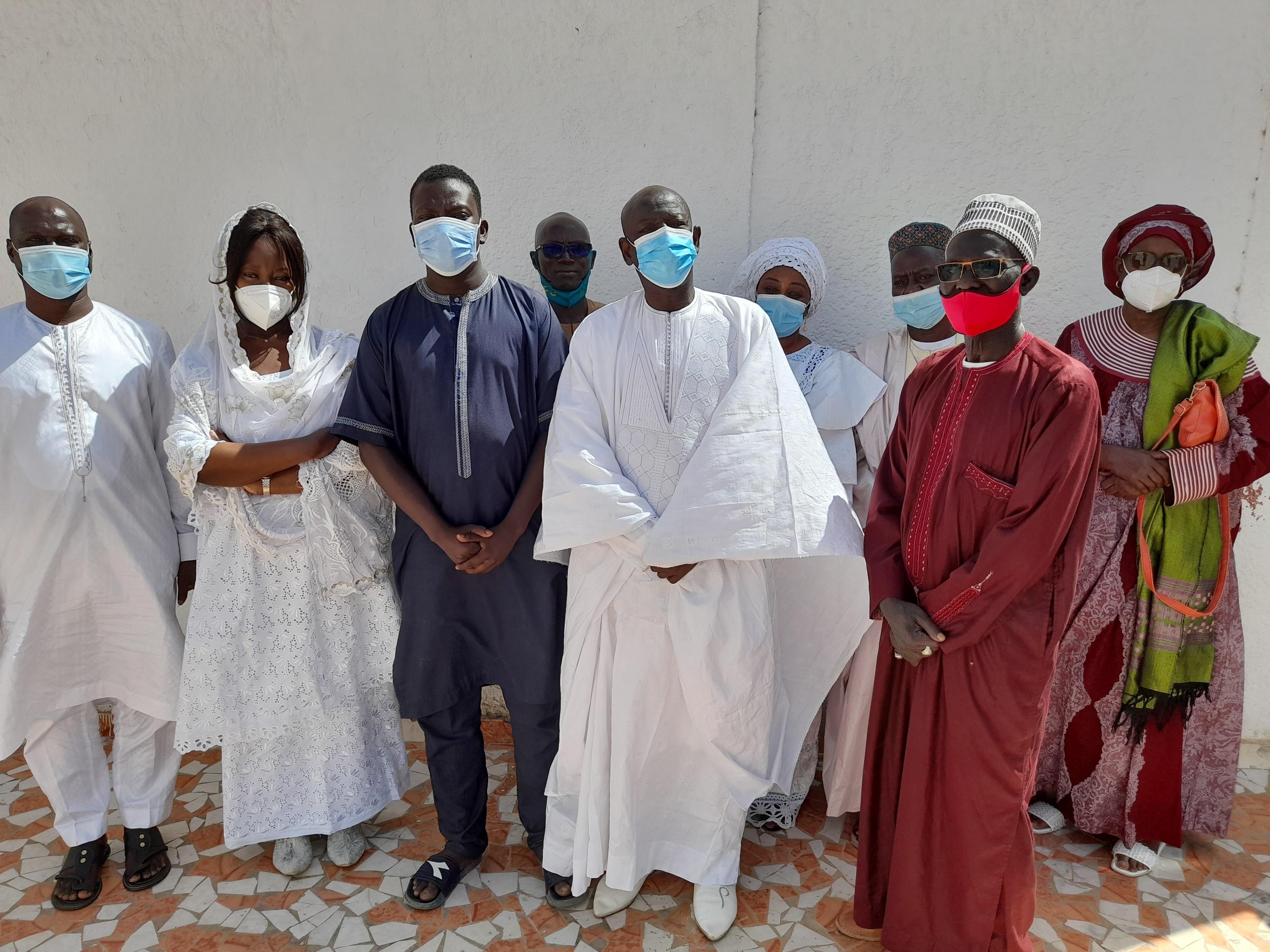 Rappel à Dieu de El Hadj Alioune Ndiaye : Aminata Mbengue Ndiaye envoie une délégation à Kaolack.
