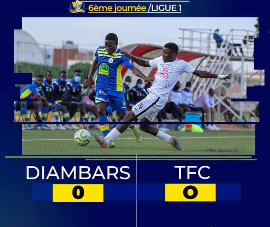 Ligue 1 / 6e journée : Nul blanc entre Diambars et Teungueth FC, Génération Foot se relance, Niary Tally bon dernier…