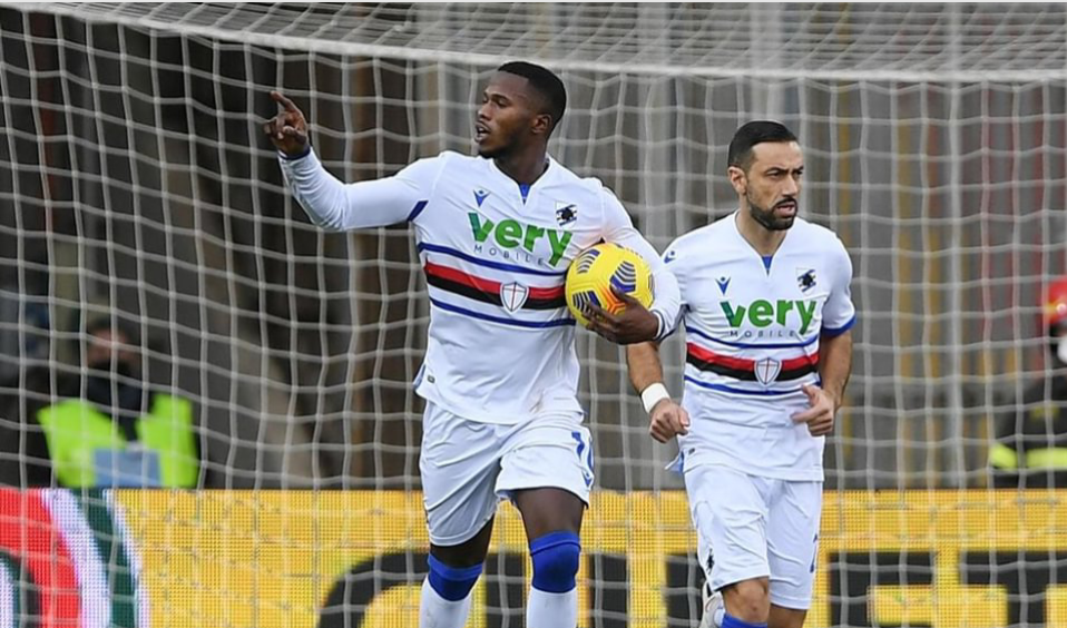 Serie A : Keïta Baldé sauve la Sampdoria de la défaite...