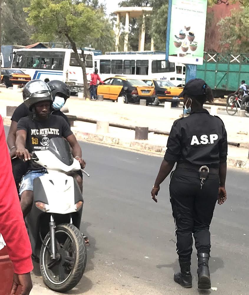 Contrôle routier : L'hostilité s'attise entre deux-roues et ASP.
