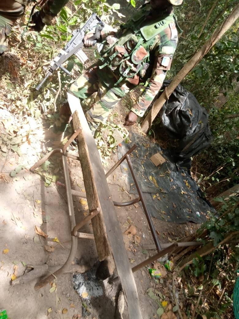 Casamance / Le Colonel Souleymane Kandé explique la mission de ratissage dans le Balantacounda.