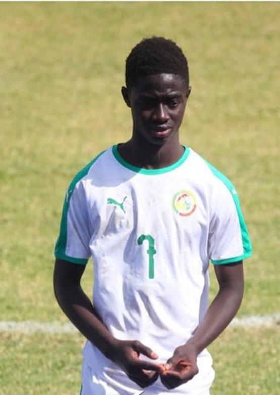UFOA-A / U17 : Ibou Sané perd son triplé inscrit contre la Gambie.