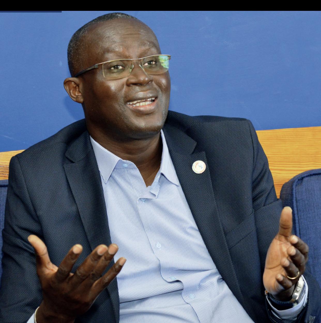 Augustin Senghor : « Cette candidature, c'est l'aboutissement d'un processus qui a commencé depuis 11 ans… Je me suis préparé à quitter la FSF »