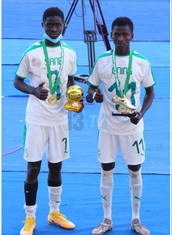 Tournoi UFOA / U17 : Ibou Sané désigné soulier d'or, Mamadou Nging sacré meilleur joueur.
