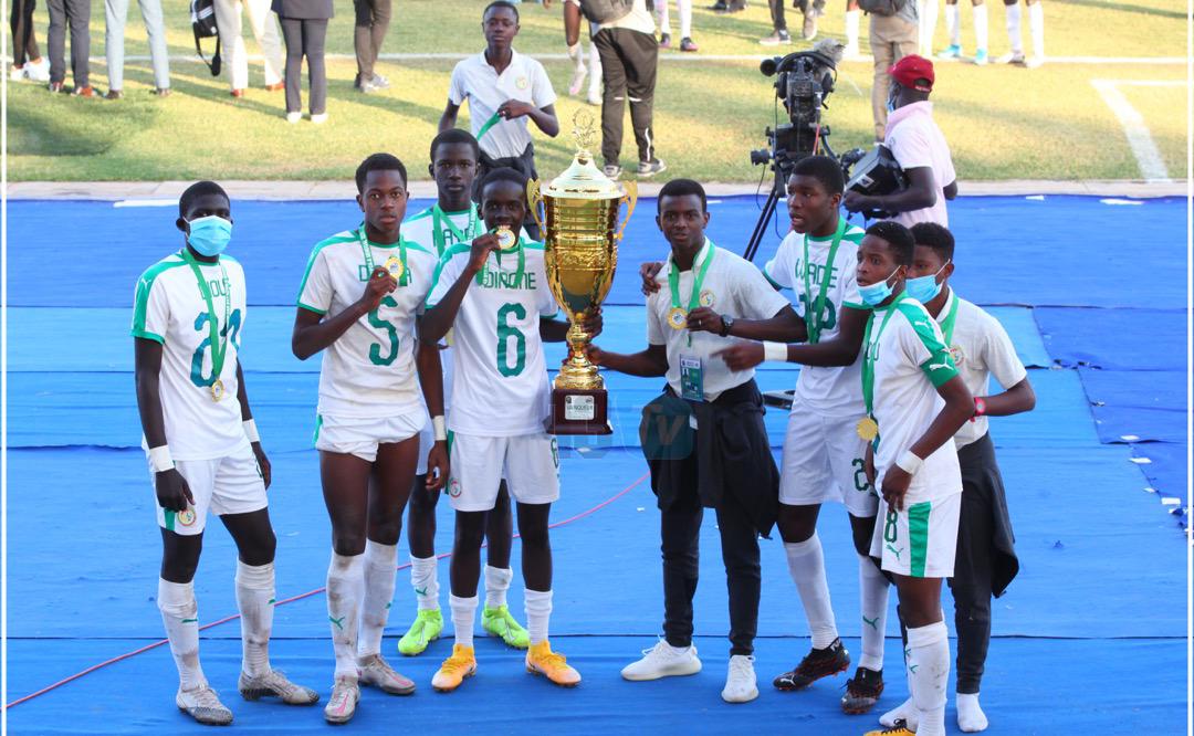 UFOA-A / U17 : Les lionceaux conservent leur titre face au Mali battu 2-0 en finale.