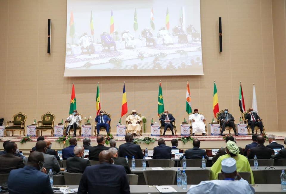 7ème session ordinaire G5 Sahel : Les présidents à huis clos pour examiner, adopter et signer le communiqué final.