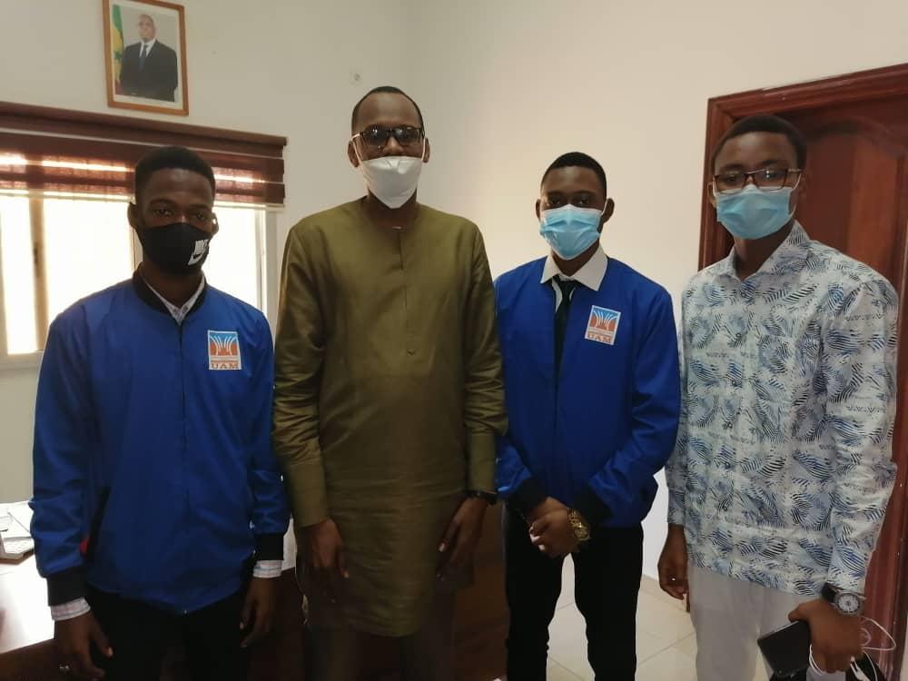 Thiès : Habib Niang, au chevet des étudiants thiessois de l'UAM, leur promet un soutien indéfectible.