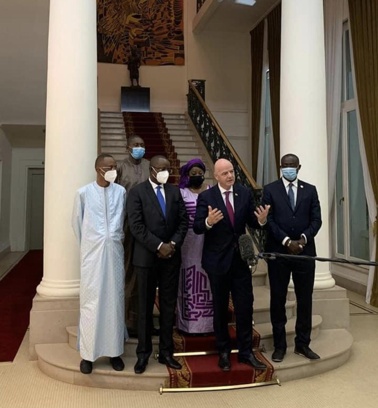 Gianni Infantino (président de la FIFA) : «Le Sénégal doit jouer un rôle important dans le football mondial»