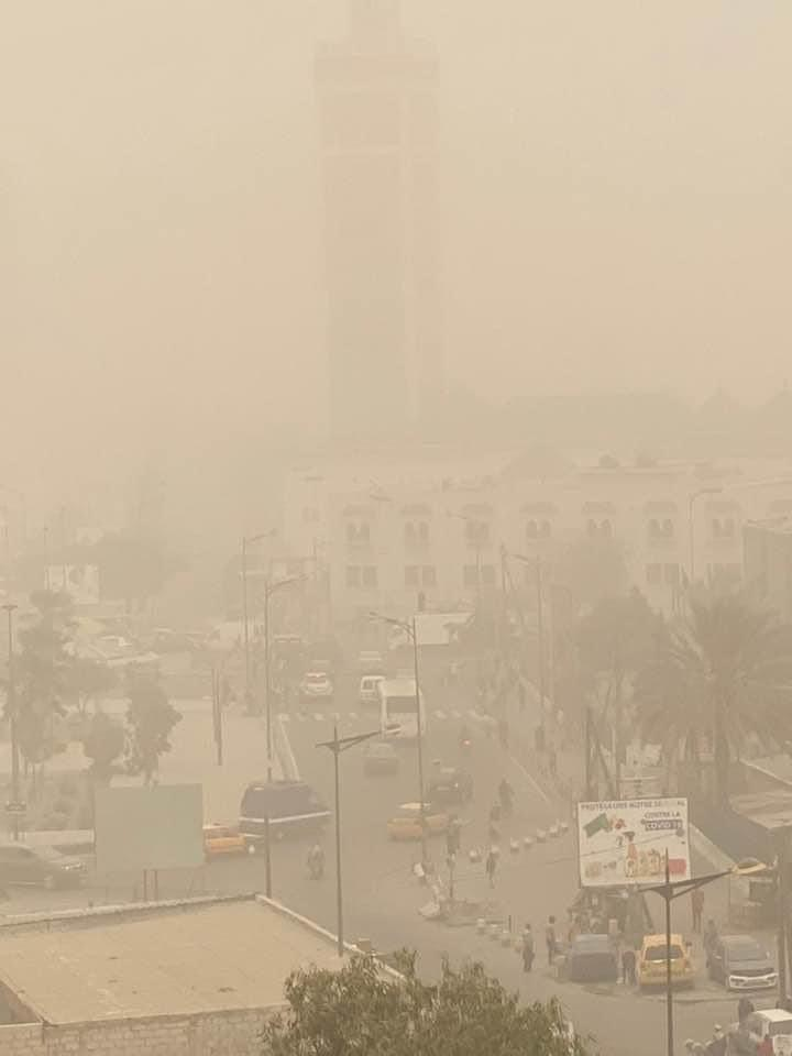 Mauvaise qualité de l'air à Dakar : Les personnes vulnérables en danger.