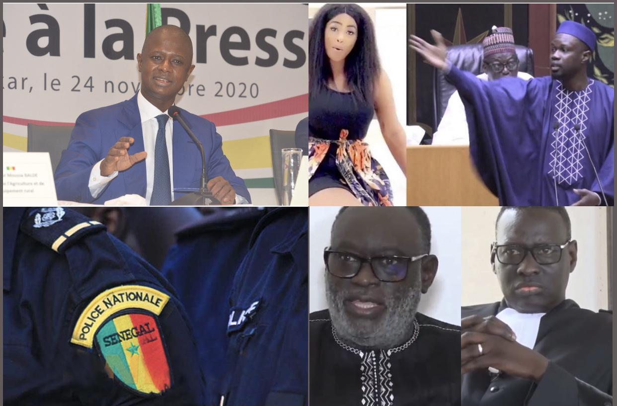 Affaire «Sweet Beauté» : Le ministre de l'intérieur Antoine Diome place Adji Sarr sous protection policière...