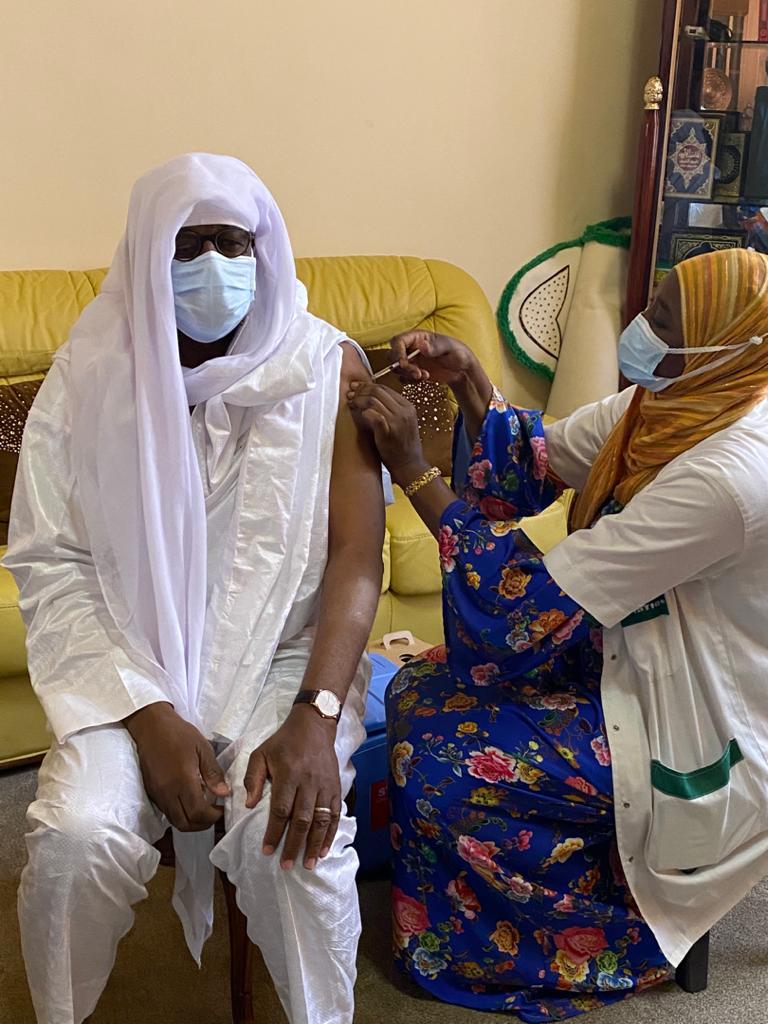 Vaccination Covid-19 : La communauté mouride de Dakar prend sa dose de Sinopharm