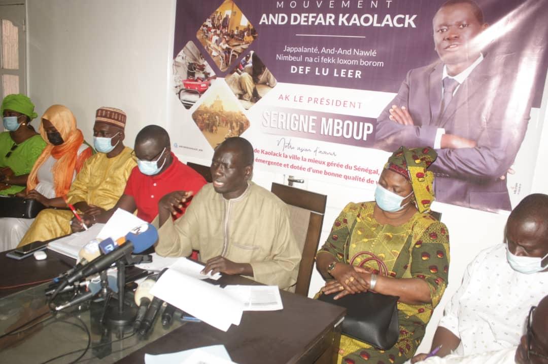 """Kaolack : Serigne Mboup se prononce sur les prochains investissements au """"Cœur de ville"""", l'installation d'Auchan à Kaolack, le marché d'intérêt régional, l'affaire Ousmane Sonko..."""