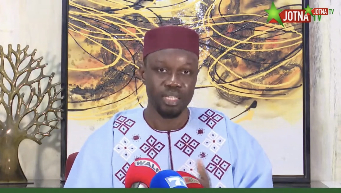 Ousmane Sonko : «Nous devons utiliser notre intelligence car Macky Sall n'a qu'un seul objectif, me radier des listes électorales et me mettre hors course pour 2024...»