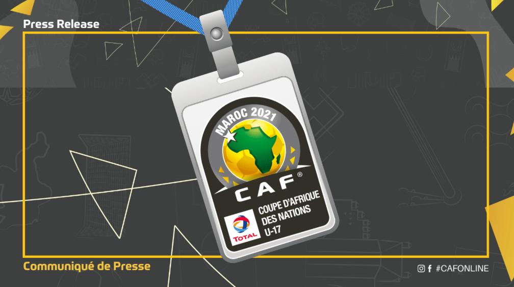 43ème Assemblée Générale Élective de la CAF et CAN U17 : La presse finalement autorisée à y assister.