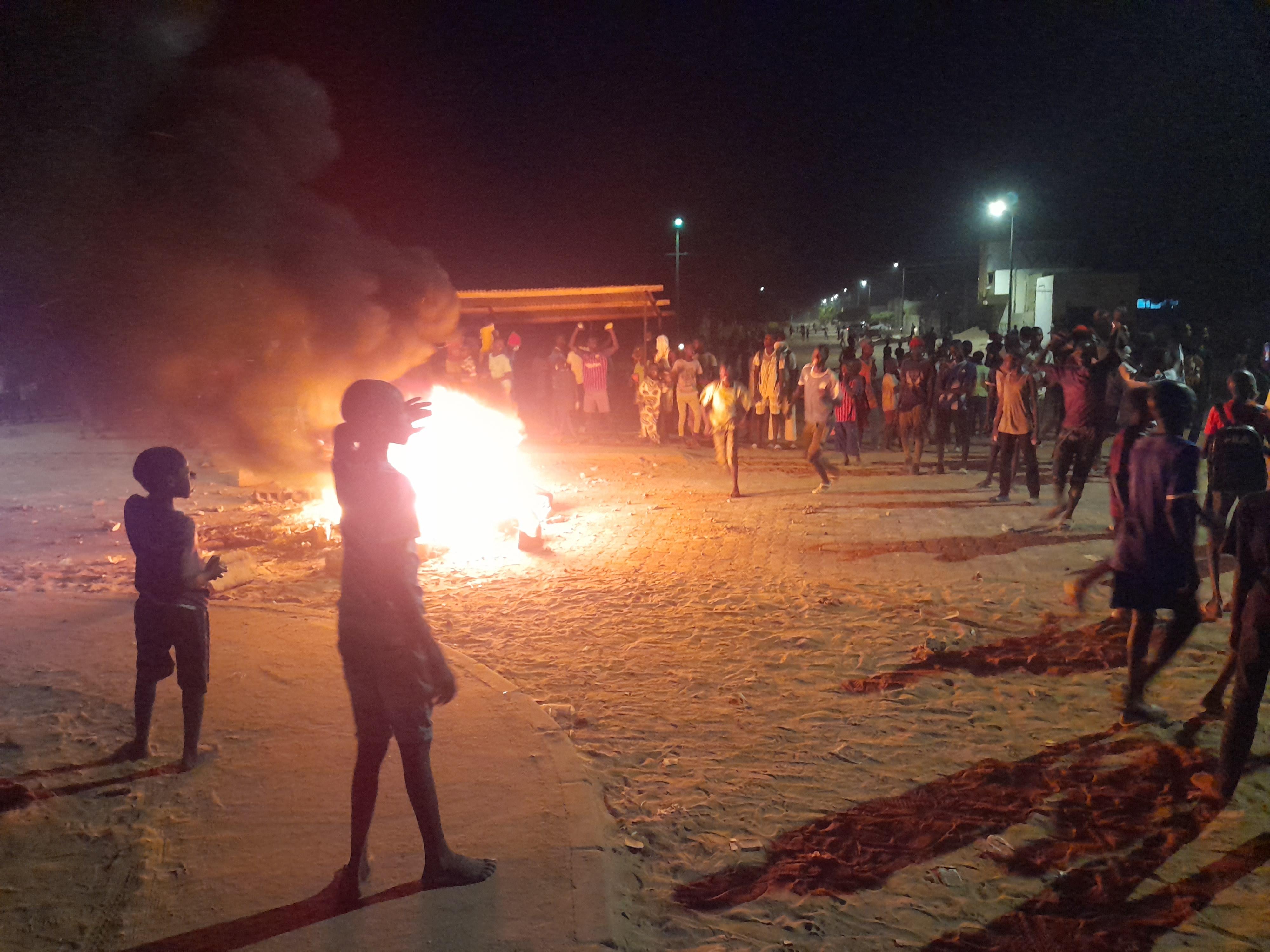 Kaolack : Des manifestations éclatent dans tous les quartiers de la commune.