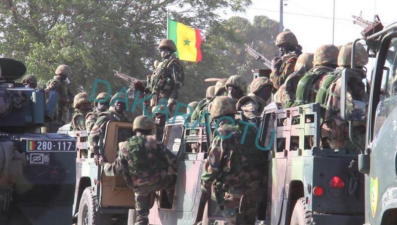 Mbour : L'armée dans les rues...
