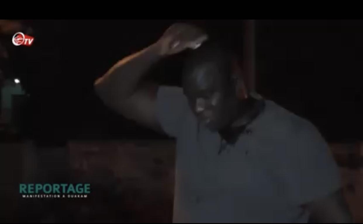 Manifestations / Ouakam : L'ancien roi des arènes, Yekini, touché à la tête suite à des jets de pierres...