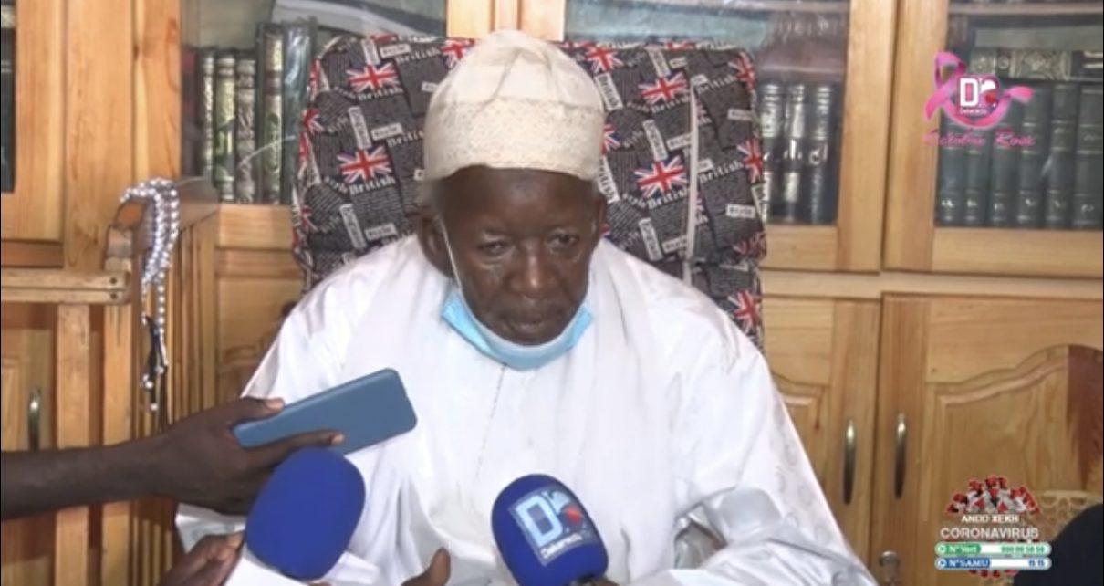 Violentes manifestations au Sénégal : Le Khalife général de Médina Baye appelle au calme et invite les porteurs de voix à tenir des discours apaisants.
