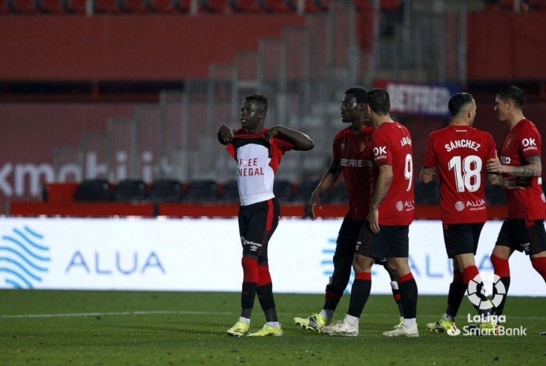 Football / Majorque : L'international sénégalais, Amath Ndiaye Diédhiou, célèbre son but en mode « Free Sénégal »