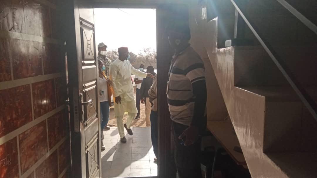 Déclaration à la presse : Ousmane Sonko est arrivé à son siège (IMAGES)