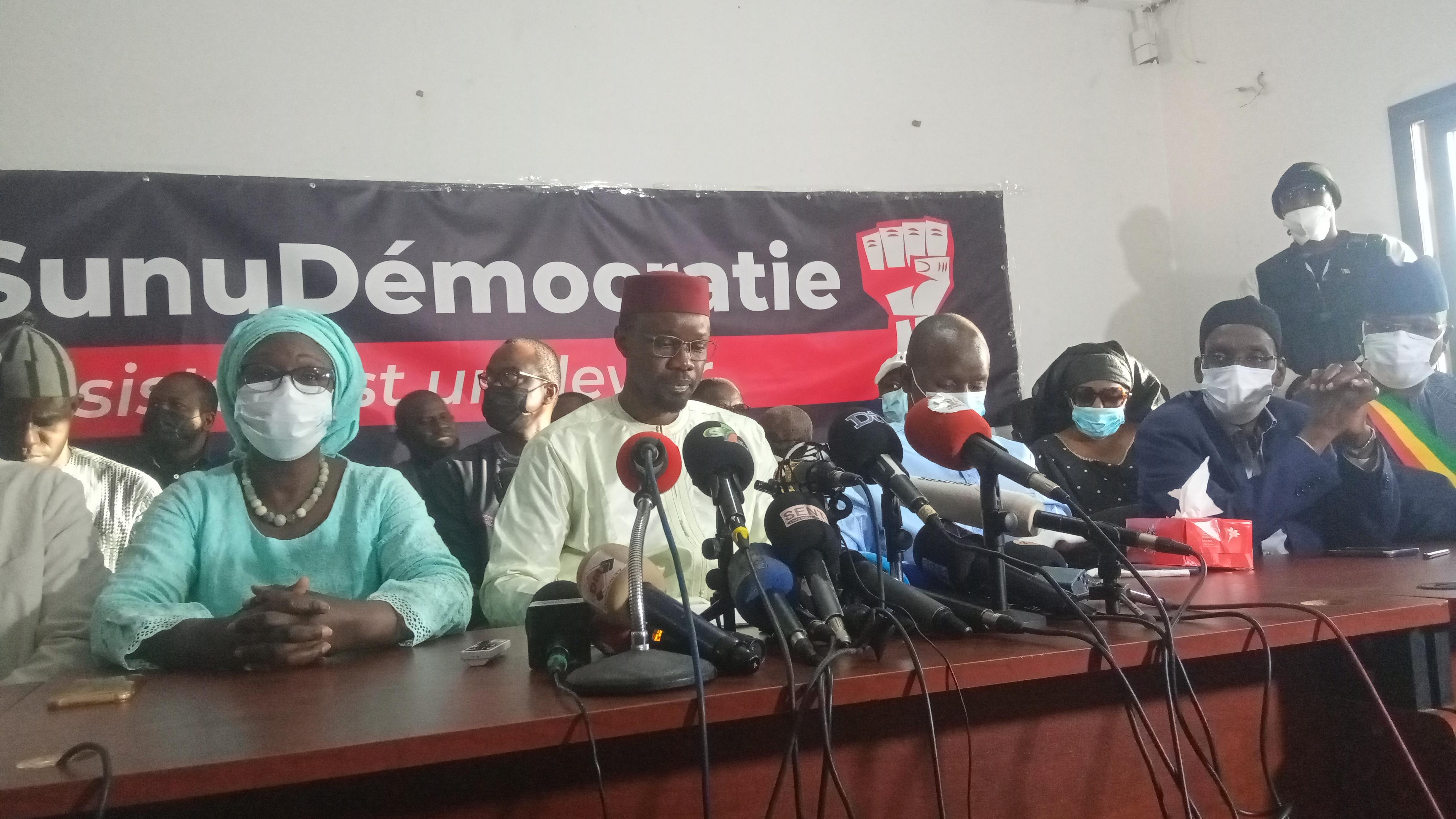 Sonko rebiffé : « La révolution est enclenchée, et personne ne pourra l'arrêter… Macky Sall n'est pas légitime pour nous diriger… »